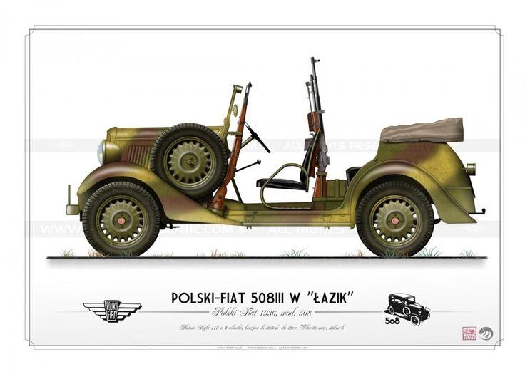 "POLSKI-FIAT 508III W ""LAZIK"" KP-005"