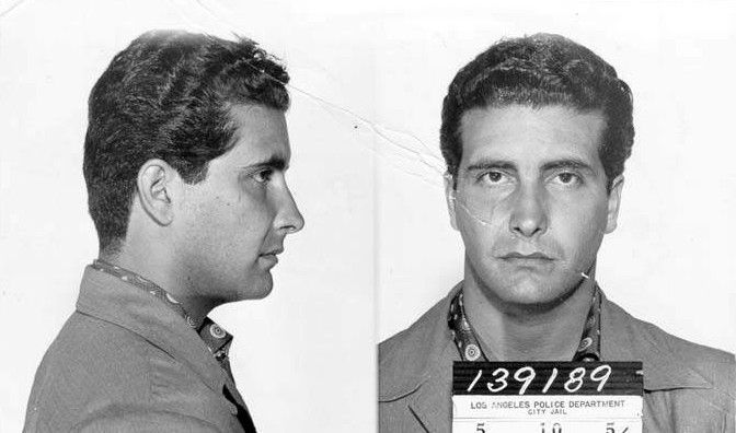 Johnny Stompanato - mobster killed by Lana Turner's daughter, Cheryl Crane