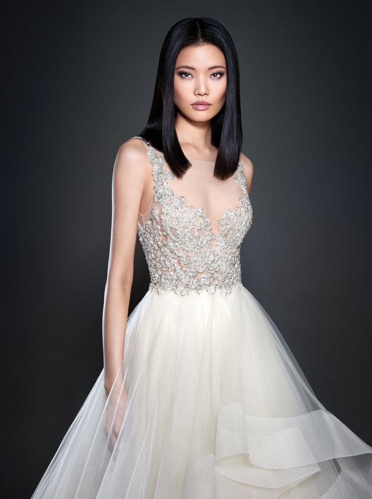16 besten Lazaro Collection Bilder auf Pinterest | Hochzeitskleider ...