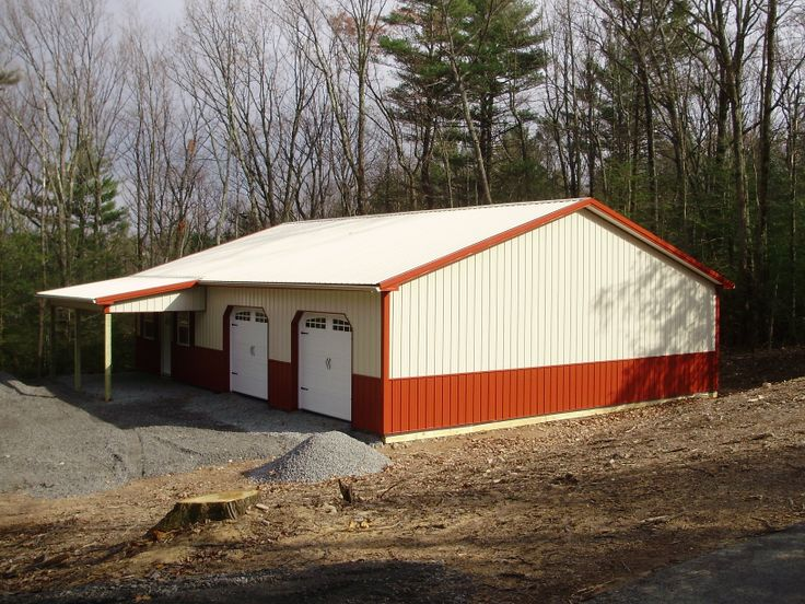 1000 images about buildings with lean tos on pinterest for Pole barn dimensions
