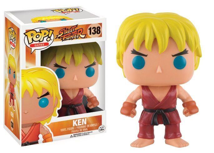 Street Fighter: Ken Funko Pop! Vinyl Figure