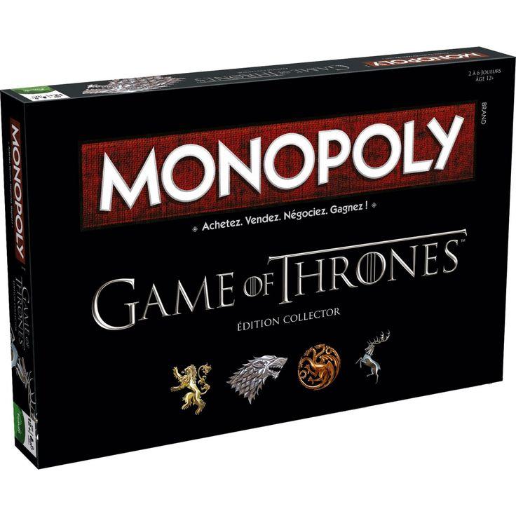 Game of thrones / Le Trône de fer jeu de plateau Monopoly