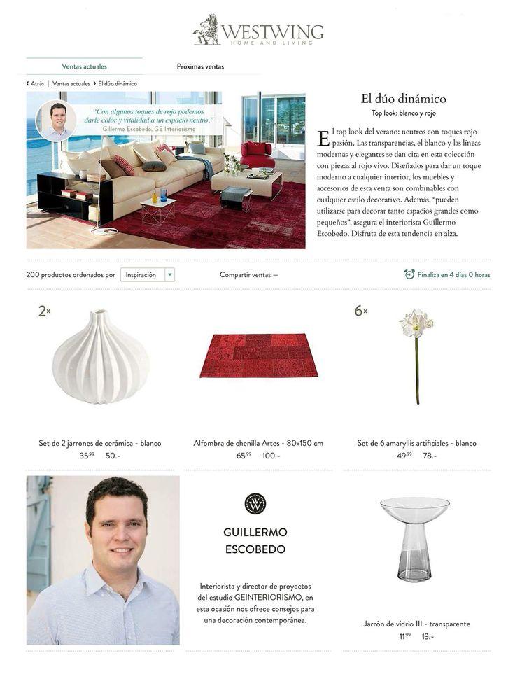 Nueva campaña para Westwing home and living, donde damos consejos para una decoración contemporánea.  http://www.westwing.es/c-el-duo-dinamico63/