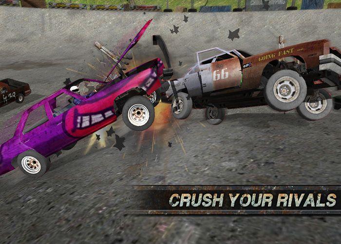 Sabías que Demolition Derby: Racing Crash, un juego arcade de demolición que deberías probar