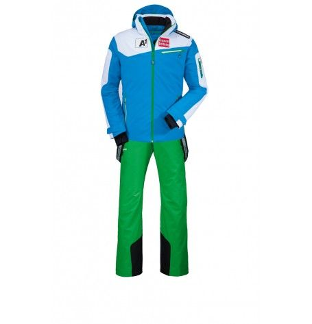 It's a challenge to find a jacket that can do it all. The solution is the ÖSV Cian jacket from Schöffel. Its laid-back freestyle fit combines effortlessly with the kind of functionality that top skiers demand. Waterproof, breathable and packed with technical features for your ultimate comfort and protection. Your adventure starts here!