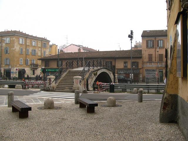San Cristoforo, alzaia naviglio grande, Milano. by B Plessi, via Flickr