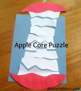 Apple Craft- Fine Motor Crafting