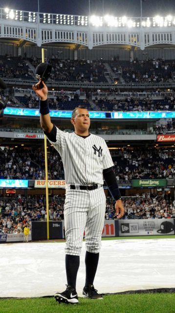Alex Rodriguez Okay Alex, Here's 25 million dollars to walk away. Who will he reach 700 homers with? My guess is the Marlins