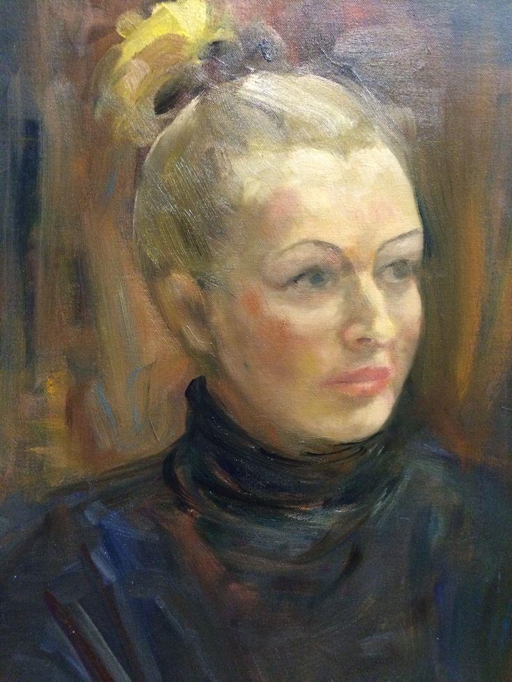 Портрет Кати (холст, масло, 50х60) 2014