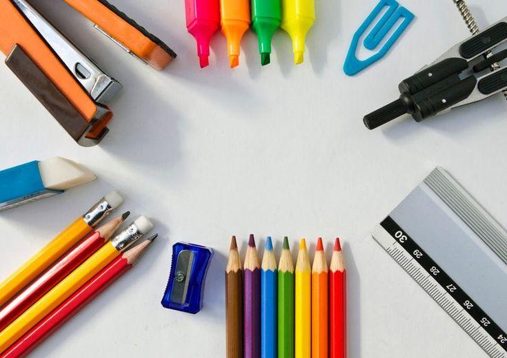 La liste de fournitures scolaires pour la rentrée 2014/2015 - http://www.bons-plans-malins.com/la-liste-de-fournitures-scolaires-pour-la-rentree-20142015/ #C'estMalin