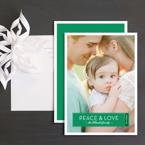 Holiday Foliage Holiday Photo Cards by Ringleader Paper Co. | Elli