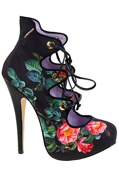 #VivienneWestwood - Accessories - 2013 Spring-Summer #shoes♥