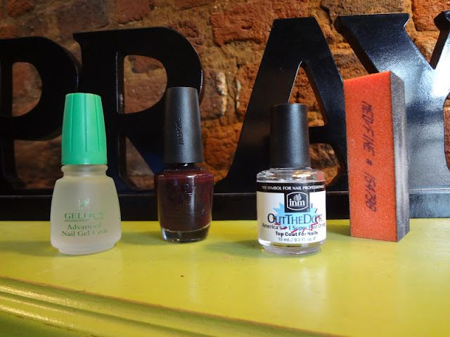 The Sweetest Thing: DIY Gel Nail