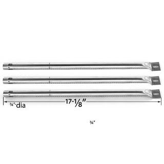 Grillpartszone- Grill Parts Store Canada - Get BBQ Parts,Grill Parts Canada: Amana Stainless Steel Burner | Replacement 3 Pack ...