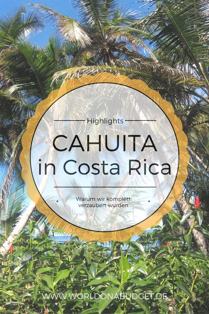 Tipps für deine Reise nach Cahuita in der Karibik von Costa Rica: Wieso, weshalb und warum Cahuita uns so gut gefallen hat, unsere besten Tipps für den entspannten Hippie Ort und Spartipps für zahlreiche Aktivitäten umsonst. Unser Reisebericht über Cahuita entführt dich in den schönsten Teil Costa Ricas!