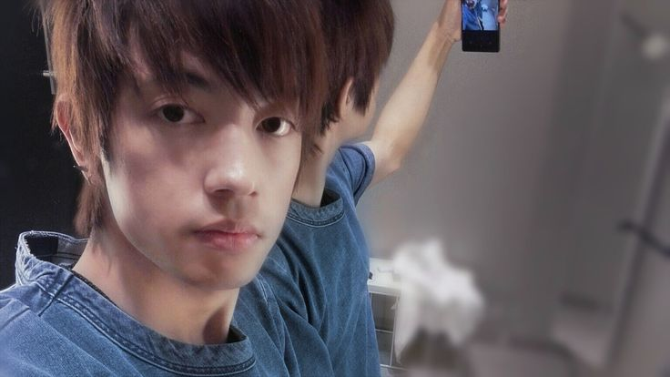 Asian male hairstyle usang rai
