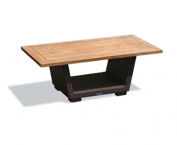 Sorrento Rattan and Teak Side Table. 53 best Rattan garden furniture images on Pinterest   Rattan