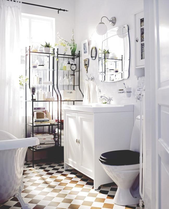 #Orden en el #baño: #Estanterias sin trasera