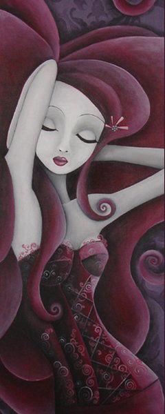 Le corset cerise by Sybile