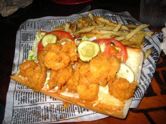 Theme Restaurants Copycat Recipes: Bubba Gump Shrimp Po Boy