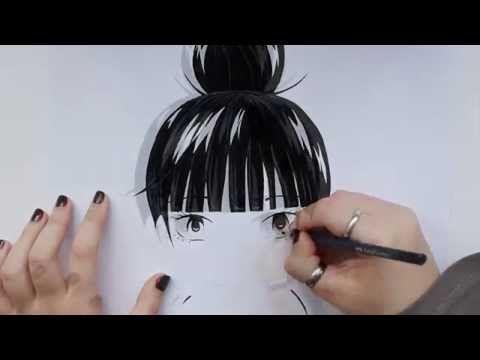 Kimi ni Todoke / 君に届け - Kuronuma Sawako / 黒沼 爽子 - Speed Drawing - YouTube