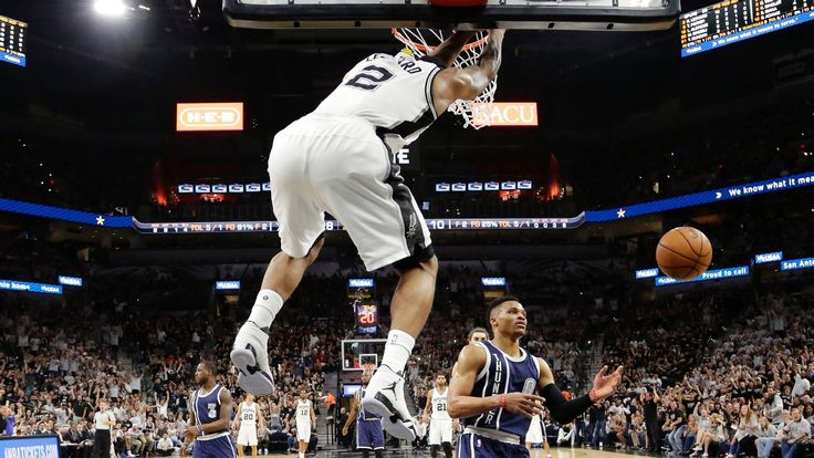 Spurs crush Thunder behind Kawhi Leonard and LaMarcus Aldridge