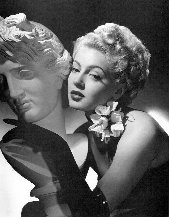 Lana Turner Giclee Fine Art Print Hollywood Wall Decor