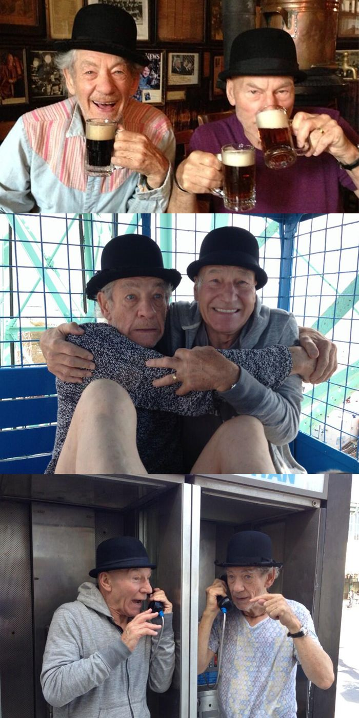 15 reasons we love Patrick Stewart and Ian McKellen