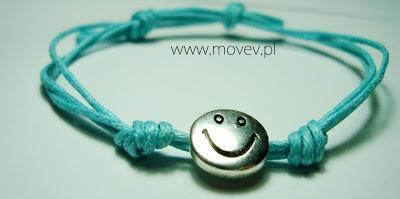 "www.movev.pl |bracelet ""smile"""