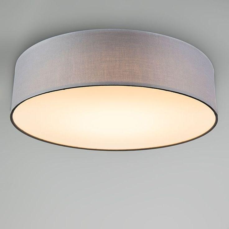 Deckenleuchte Drum LED 40 grau in 2019 Beleuchtung decke