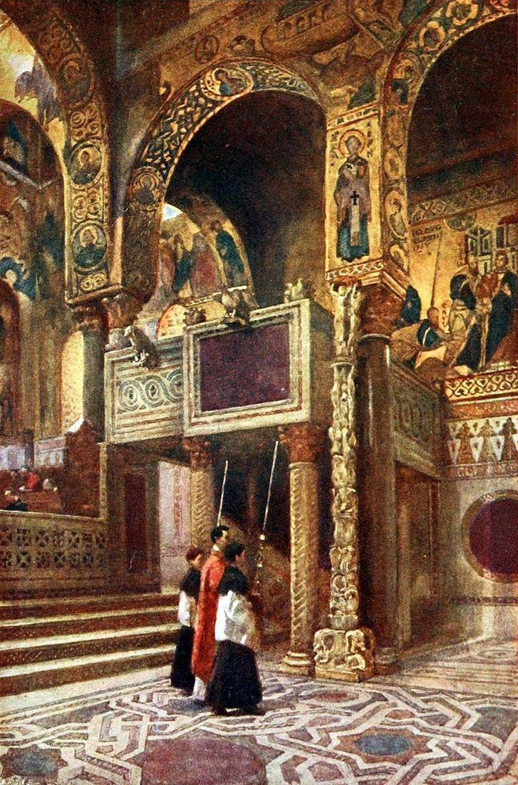 Italy by Frank Fox (61) - Palazzo dei Normanni - Wikipedia