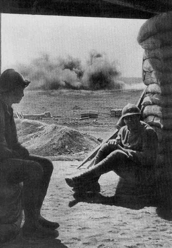 WW1, Sept. 1916. Battle of the Somme.                              …