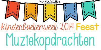 Juf-Stuff: Muziekopdrachten bij de Kinderboekenweek 2014 - Feest