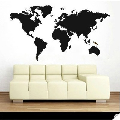 29 best world maps images on pinterest places to travel world world map wall decal publicscrutiny Images
