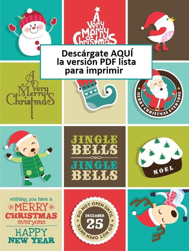 Tarjetas navide as gratis dise o gr fico y web pinterest - Postales navidenas creativas ...