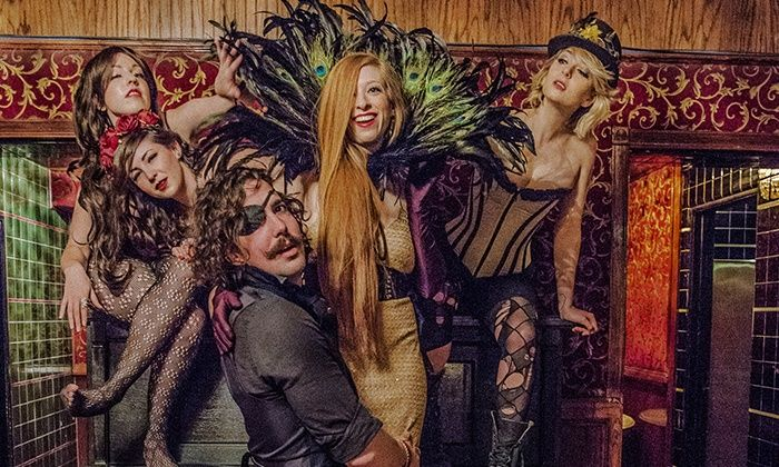 The Poetry Brothel - Multiple Locations: The Poetry Brothel: Burlesque Poetry Readings and Jazz (January 18–March 29)