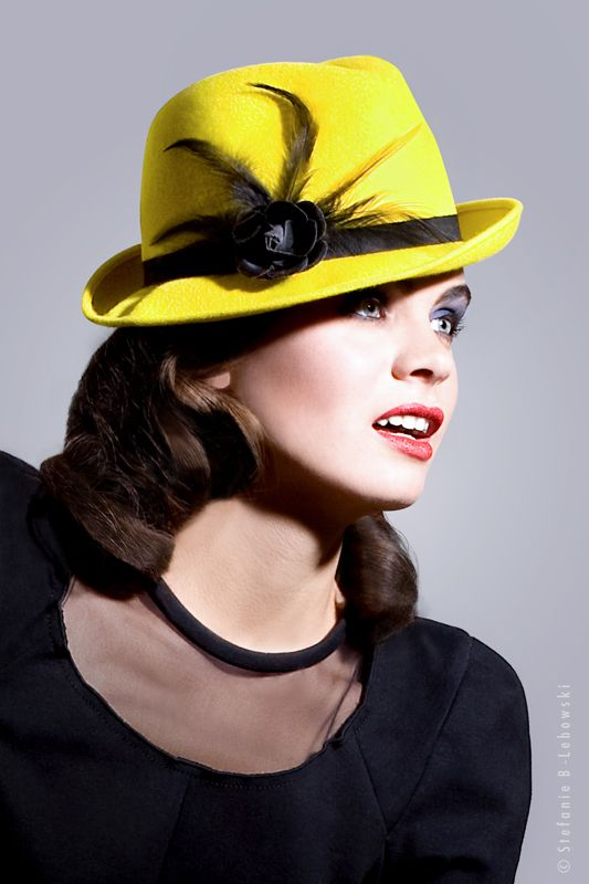 TAXI hat by Mademoiselle Slassi Paris