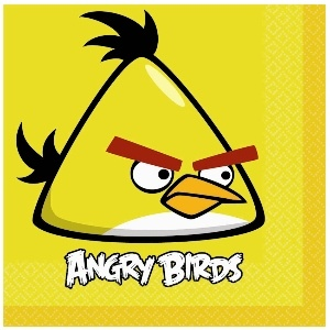 Angry Birds Luncheon Napkins