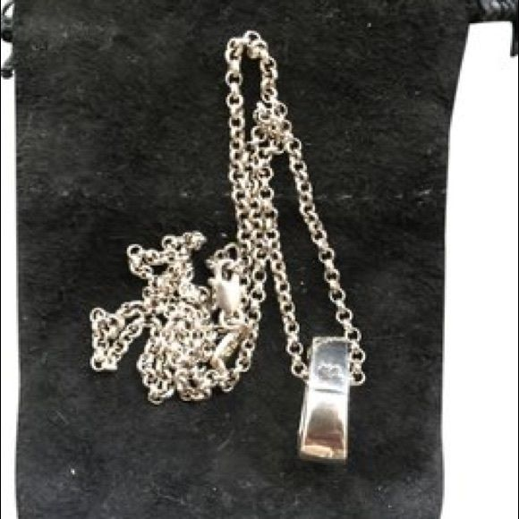 Chrome Hearts Sterling Silver Bale Neck Chain Purchased at Robertson Flag Ship store. Chrome Hearts Jewelry Necklaces