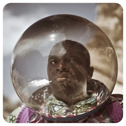"""Cristina de Middel, from the series AFRONAUTS: photographs depicting Zambia's failed attempt to put a man on the moon. Cristina de Middel explains her concept: """"In 1964, still living the dream of their recently gained independence, Zambia started a space program in hopes of catching up with the USA and the Soviet Union. Their goal was to send the first African astronaut to the moon."""""""