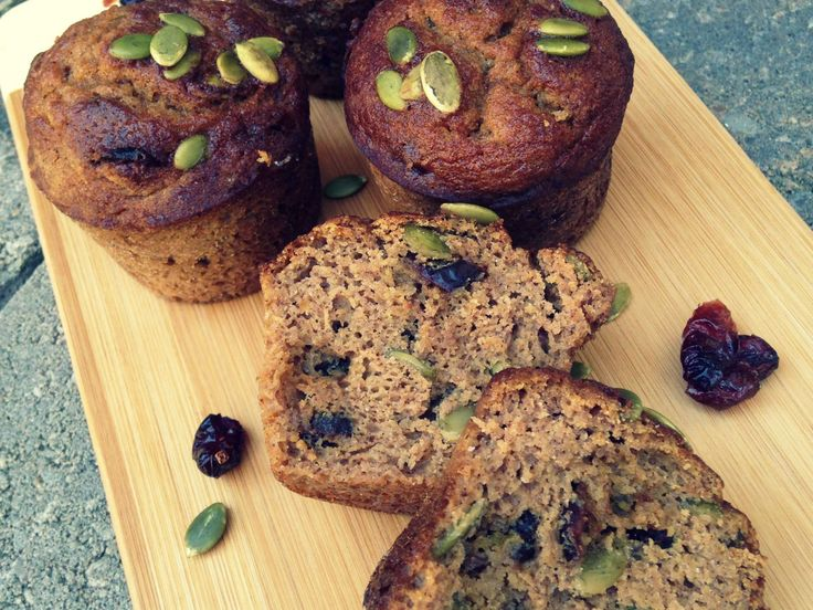 Pumpkin Cranberry Muffins (Paleo, Gluten Free, Grain Free) | Nutrition Packed Girl