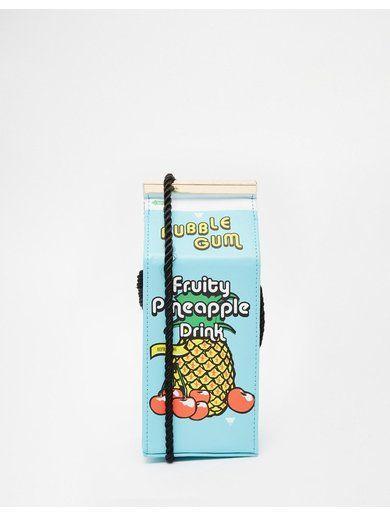 Skinnydip Pineapple Juice Across Body Bag - Blue