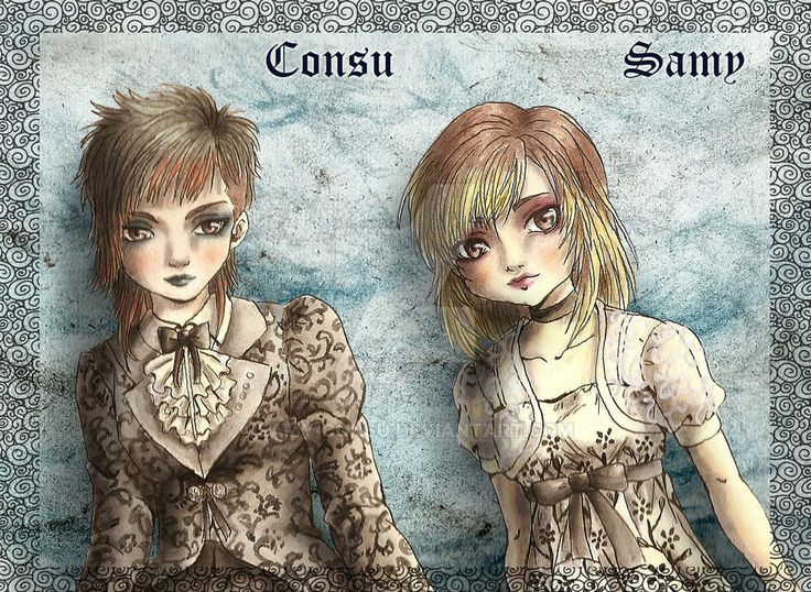 Our Avatar N.2 by Samy-Consu - Tecnique: Ink and watercolor, Photoshop CS6