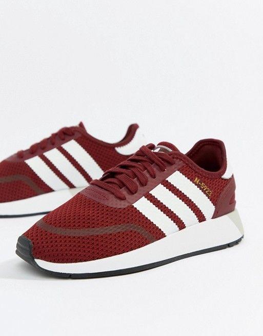 09ffdade64d1 adidas Originals N-5923 Runner Sneakers In Burgundy