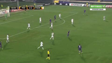 soccer goal federico fiorentina paok bernardeschi via diggita.it