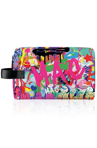 Makeup Preview: MAC Illustrator Cosmetic Bags By Anja Kroencke, Graffiti Artist Indie 184
