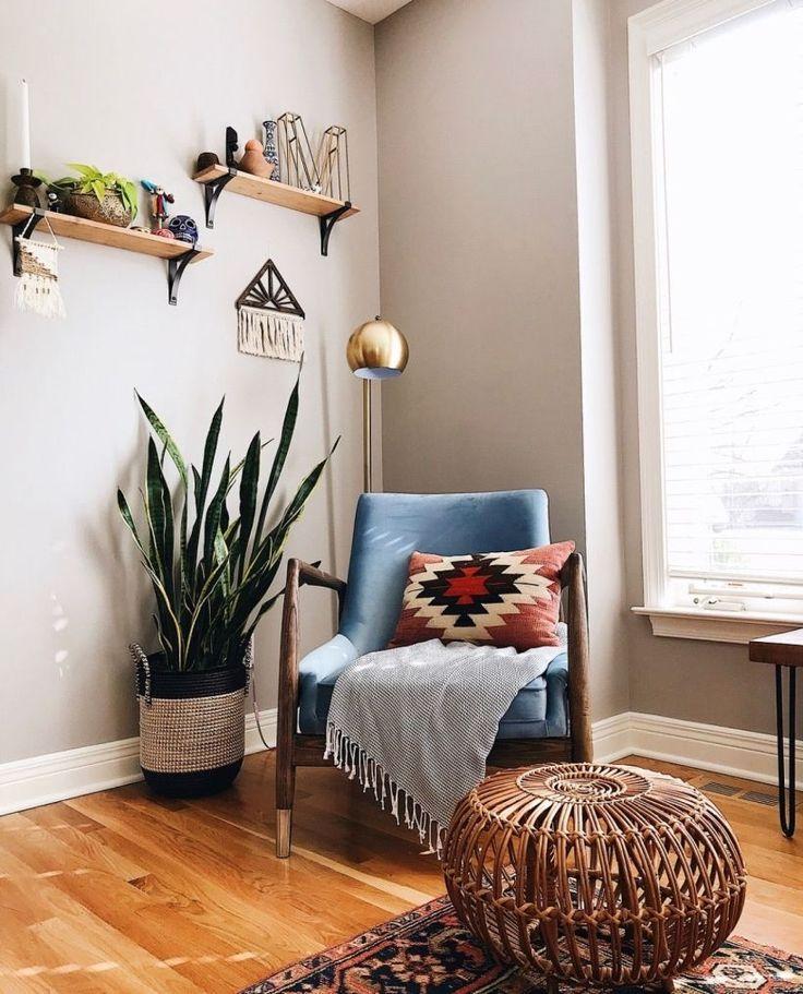 43 Beautiful Corner Living Room Decoration Ideas  Boho