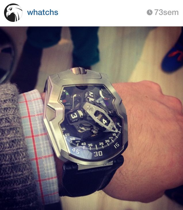 210 WG, Urwerk by Whatchs