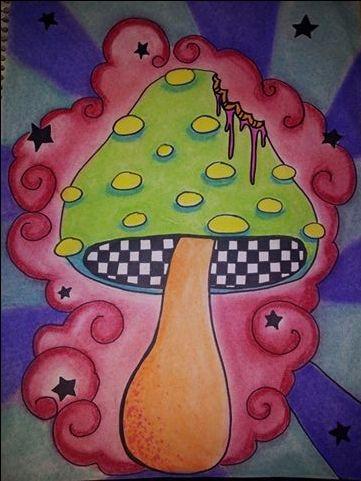 Shroom art using pastel chalk and sharpie marker. https://www.facebook.com/HallucinogeniusVMJP https://twitter.com/shelly_love13 hallucinogeniusvmjp.tumblr.com https://instagram.com/hallucinogeniusvmjp/ http://hallucinogeniusvmjp.deviantart.com/ http://shellylove13.wix.com/hallucinogenius #art #mushroom #drawing #hallucinogenius