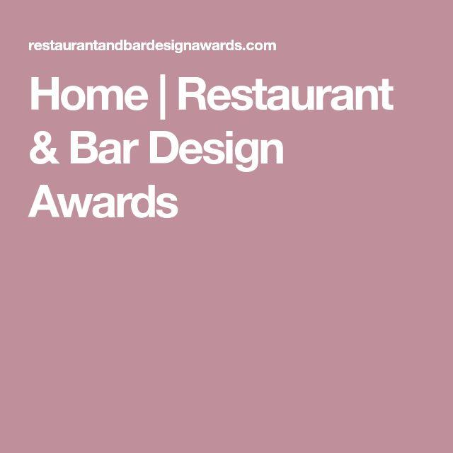 Home   Restaurant & Bar Design Awards